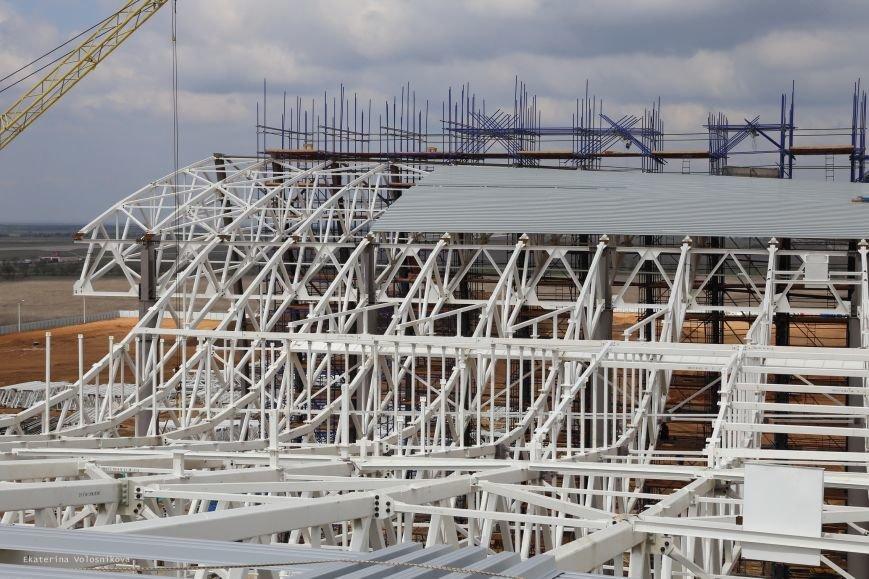 Корпус нового терминала аэропорта Симферополь собран наполовину (ФОТО), фото-1