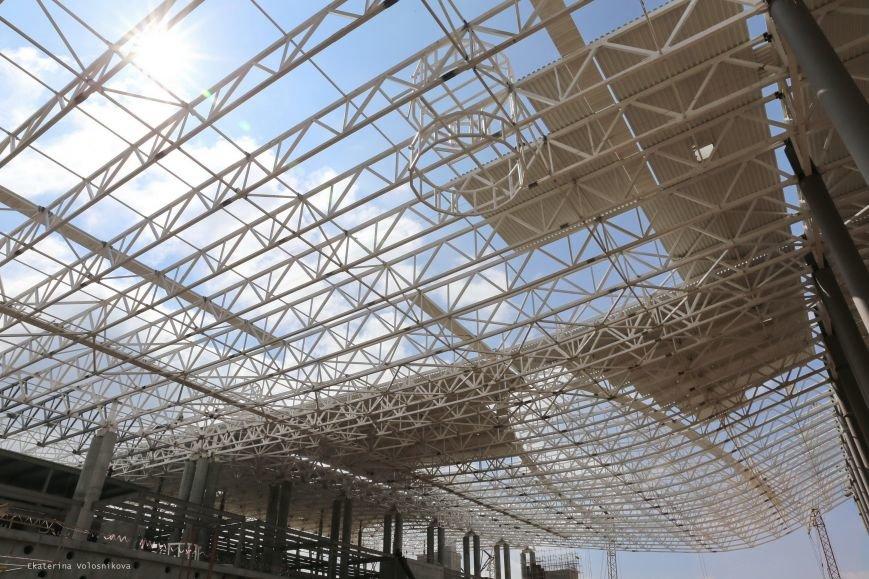 Корпус нового терминала аэропорта Симферополь собран наполовину (ФОТО), фото-3