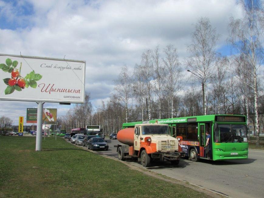 В Новополоцке возле автовокзала чинят дорогу. Движение транспорта ограничено, фото-7