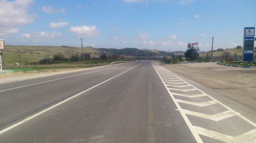 Около Керчи отремонтировано 22 километра региональной автодороги (ФОТО), фото-4