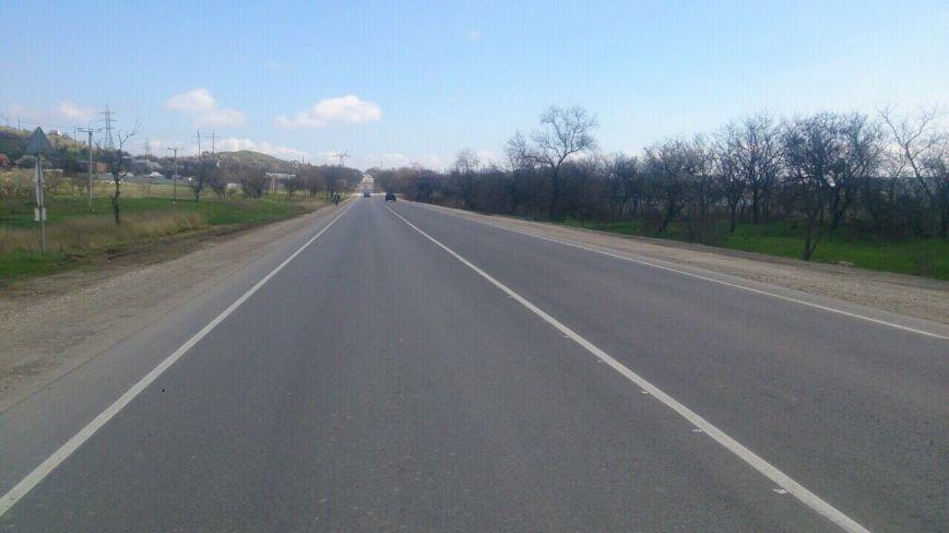 Около Керчи отремонтировано 22 километра региональной автодороги (ФОТО), фото-3