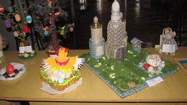В Краматорске стартовала выставка пасхальных аранжировок, фото-3