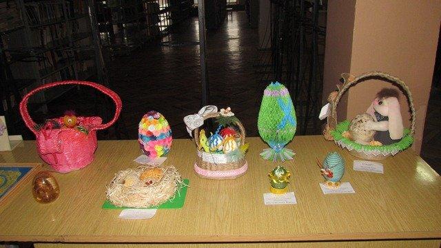 В Краматорске стартовала выставка пасхальных аранжировок, фото-1