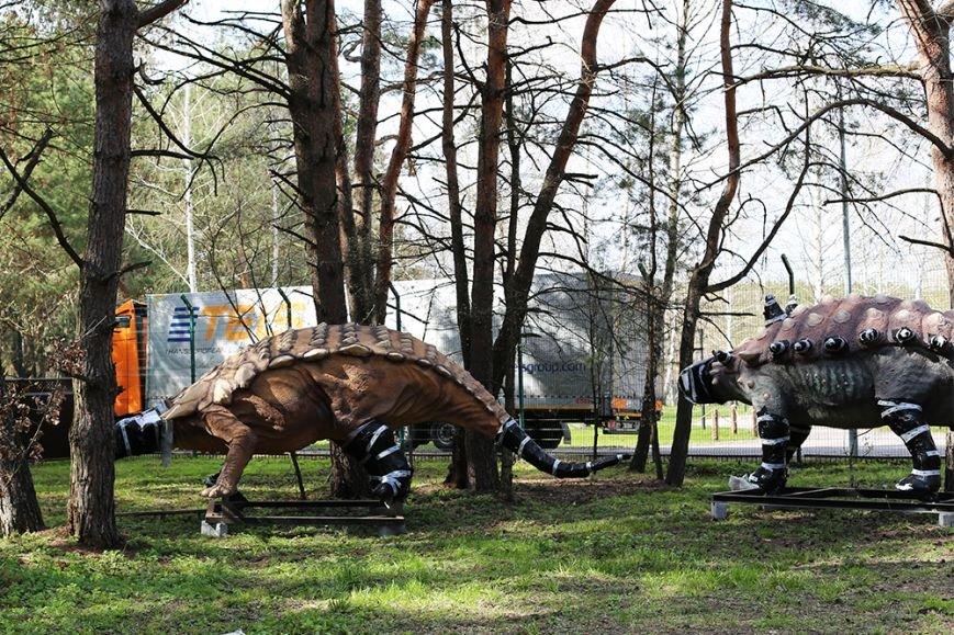 В Белгород привезли первые фигуры для динопарка, фото-1