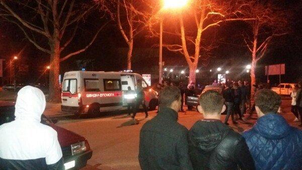 Страшное ДТП возле кинотеатра в Мелитополе, фото-2