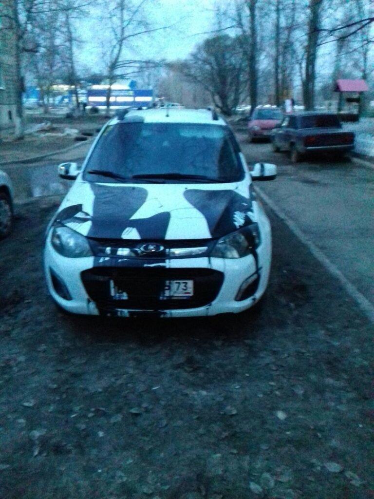 В Ульяновске об легковушки ломаются деревья. ФОТО, фото-3