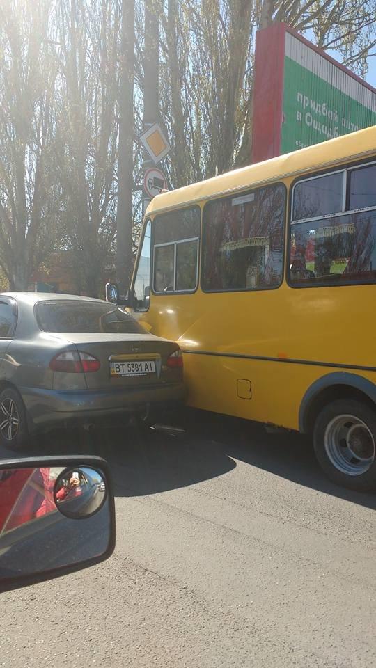 """В Херсоне на ост.""""Железнодорожная"""" авария, будьте осторожны! (ФОТО), фото-1"""