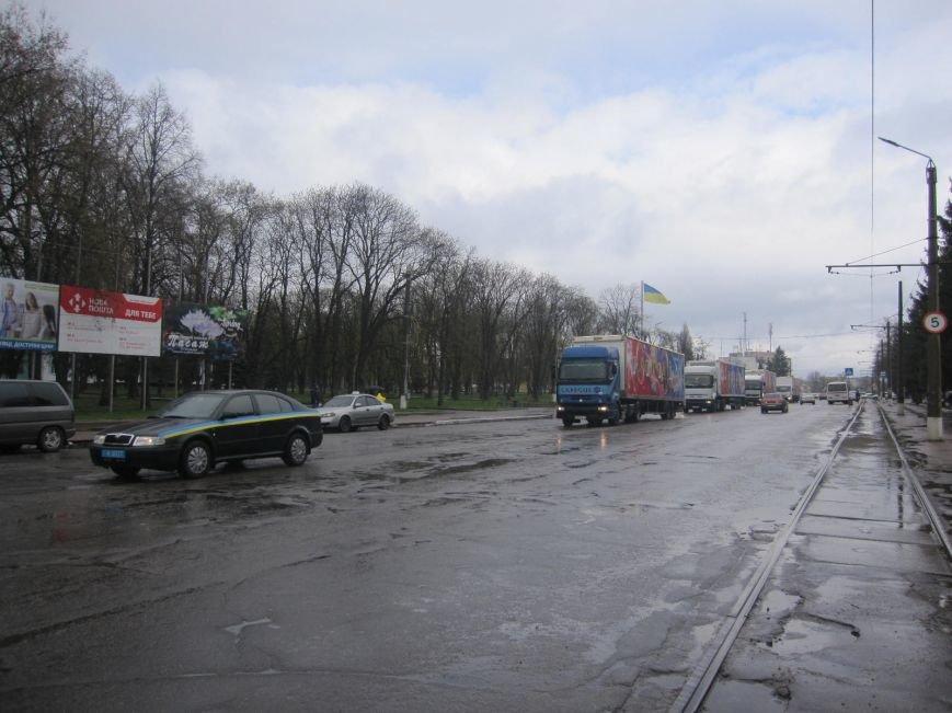 "Фотофакт: 5 фур цирку ""Кобзов"" прибуло в Конотоп, фото-1"