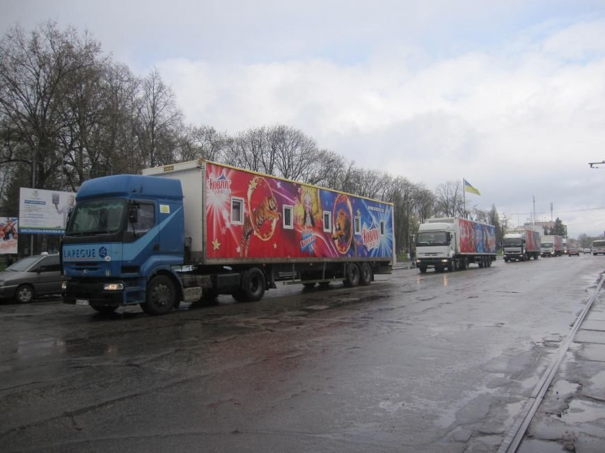 "Фотофакт: 5 фур цирку ""Кобзов"" прибуло в Конотоп, фото-2"
