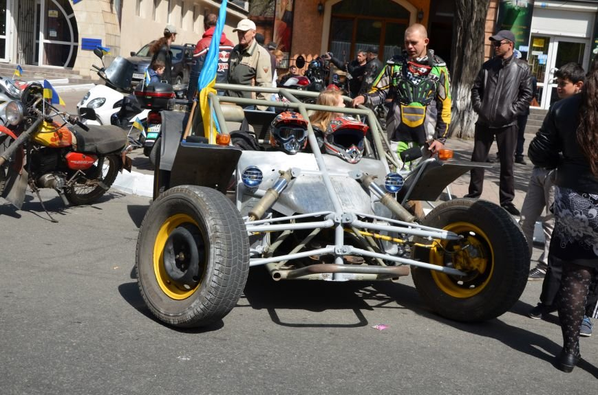 Сотни байкеров проехались по улицам Мариуполя (ФОТО+ВИДЕО), фото-5