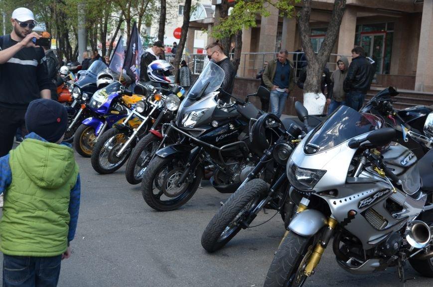 Сотни байкеров проехались по улицам Мариуполя (ФОТО+ВИДЕО), фото-8