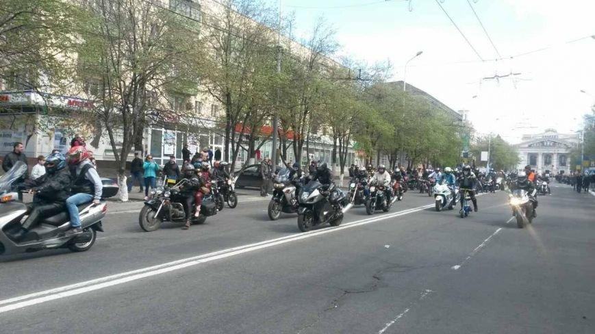 Сотни байкеров проехались по улицам Мариуполя (ФОТО+ВИДЕО), фото-22