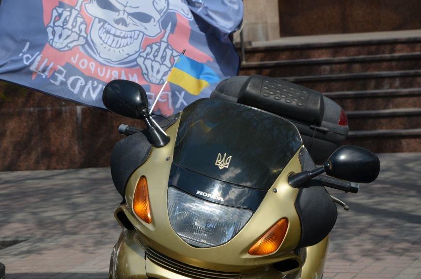 Сотни байкеров проехались по улицам Мариуполя (ФОТО+ВИДЕО), фото-10