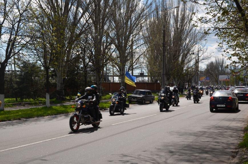 Сотни байкеров проехались по улицам Мариуполя (ФОТО+ВИДЕО), фото-28