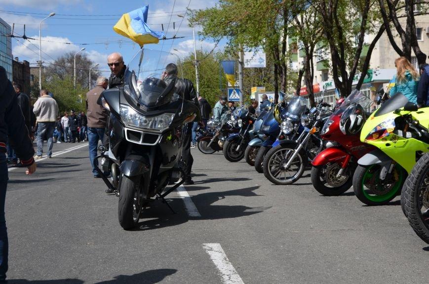 Сотни байкеров проехались по улицам Мариуполя (ФОТО+ВИДЕО), фото-24
