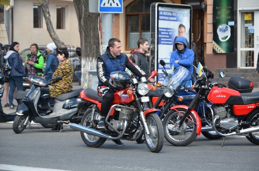 Сотни байкеров проехались по улицам Мариуполя (ФОТО+ВИДЕО), фото-3