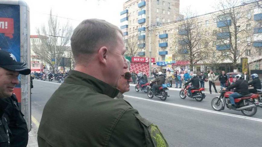 Сотни байкеров проехались по улицам Мариуполя (ФОТО+ВИДЕО), фото-23
