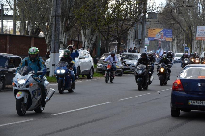 Сотни байкеров проехались по улицам Мариуполя (ФОТО+ВИДЕО), фото-30