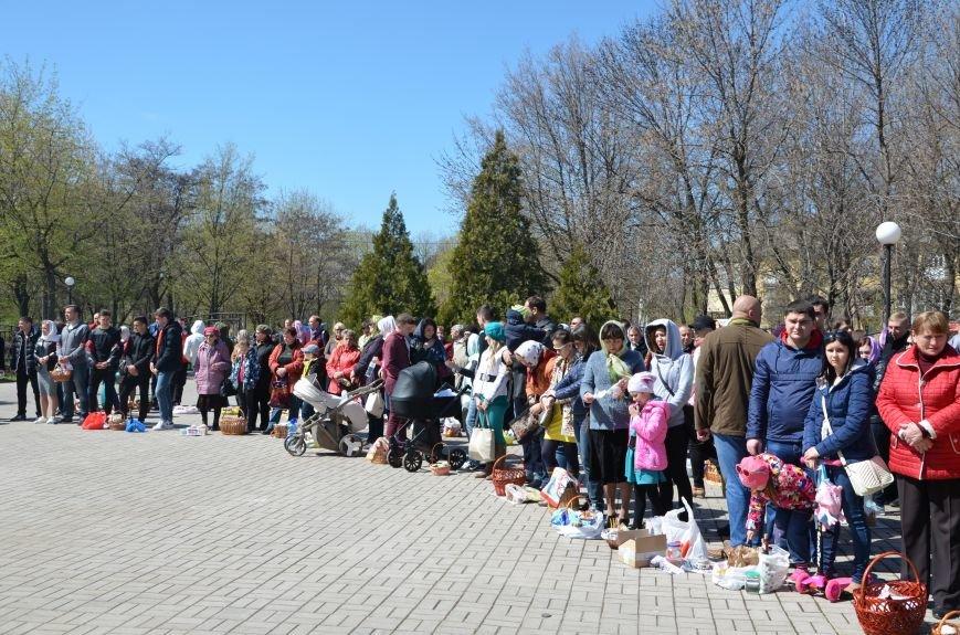 Мариупольцы празднуют Светлое Христово Воскресение (ФОТО+ВИДЕО), фото-9