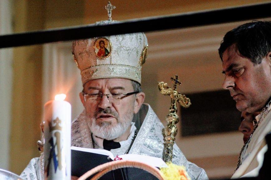 Як ужгородці святили паски у Кафедральному соборі: фоторепортаж, фото-6