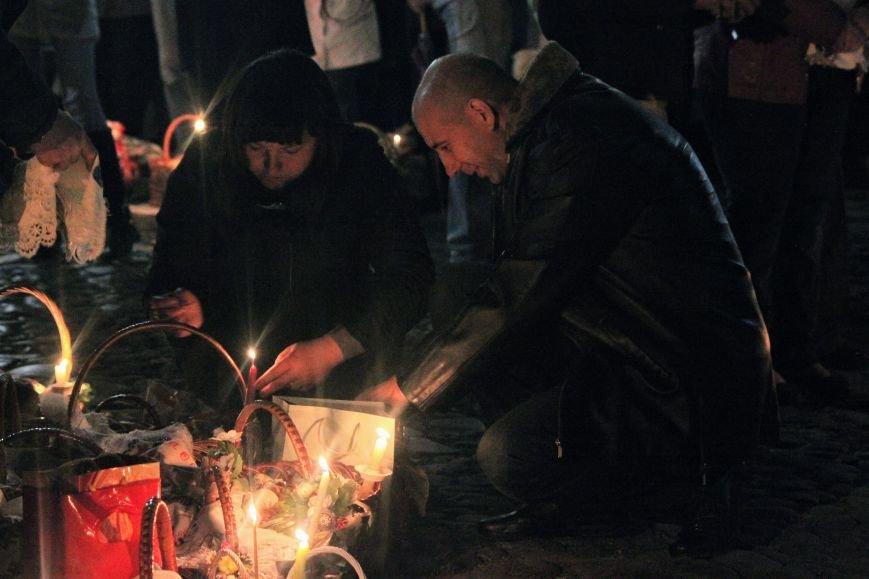 Як ужгородці святили паски у Кафедральному соборі: фоторепортаж, фото-5