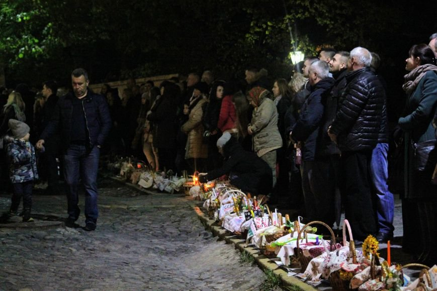 Як ужгородці святили паски у Кафедральному соборі: фоторепортаж, фото-2