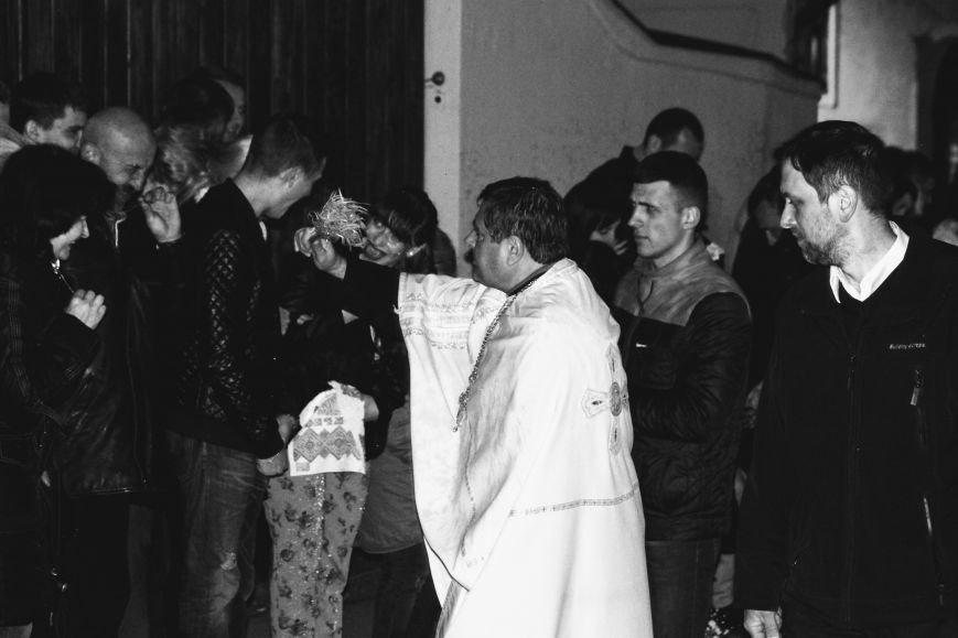 Як ужгородці святили паски у Кафедральному соборі: фоторепортаж, фото-14