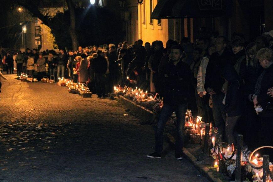 Як ужгородці святили паски у Кафедральному соборі: фоторепортаж, фото-10