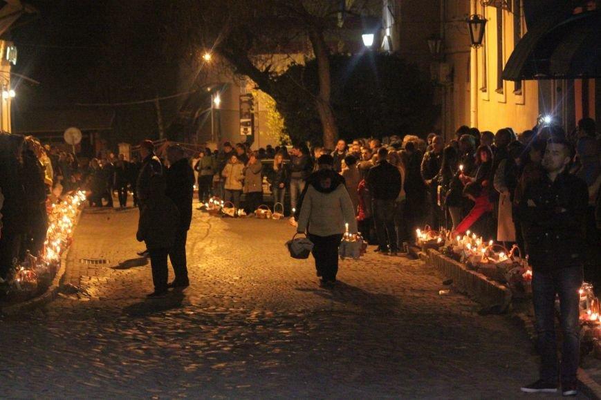 Як ужгородці святили паски у Кафедральному соборі: фоторепортаж, фото-11