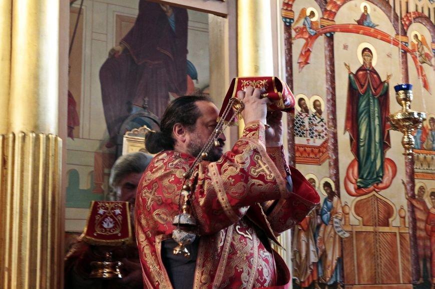 Пасхальное Богослужение в Спасо-Преображенском соборе, Никополь, фото-3