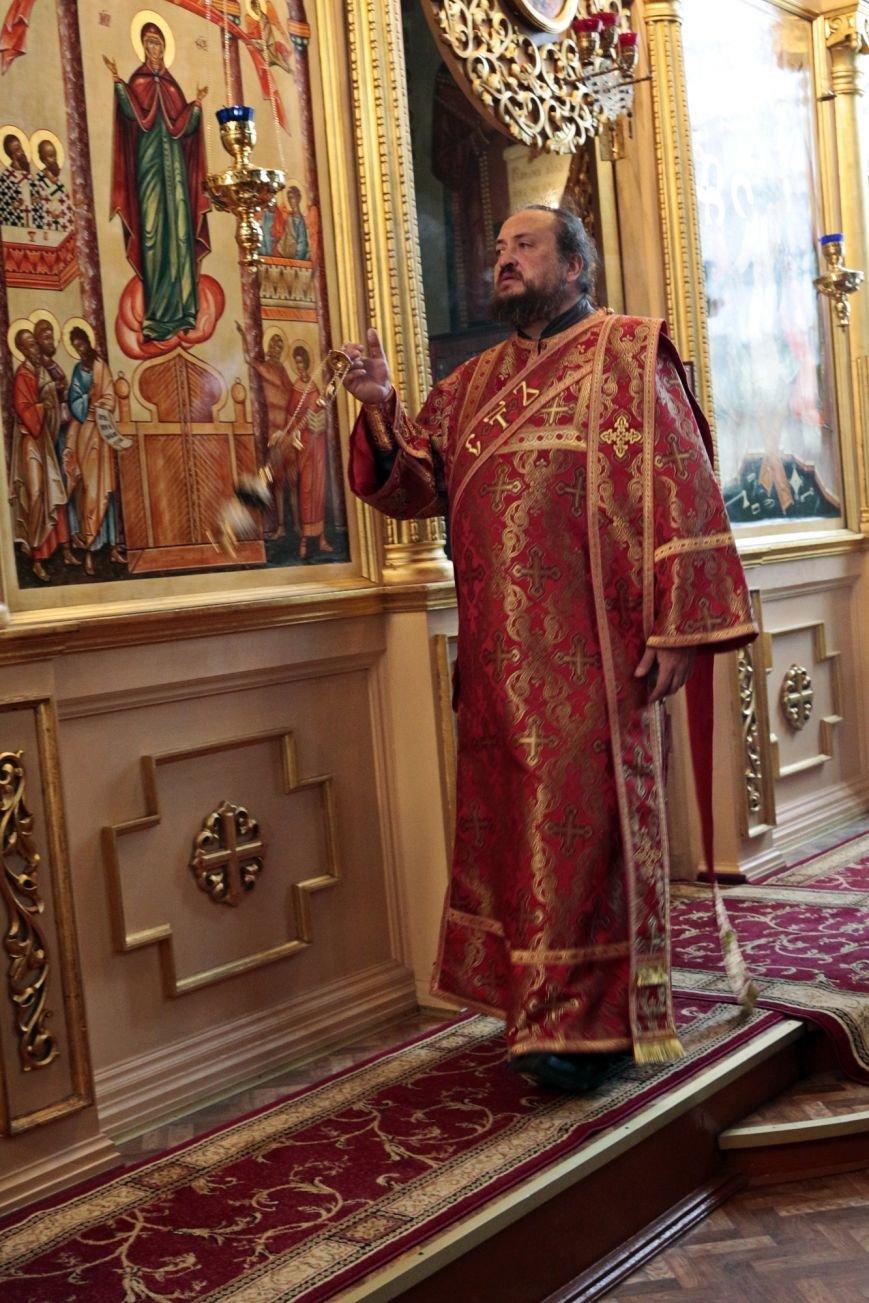 Пасхальное Богослужение в Спасо-Преображенском соборе, Никополь, фото-2