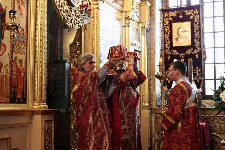 Пасхальное Богослужение в Спасо-Преображенском соборе, Никополь, фото-4