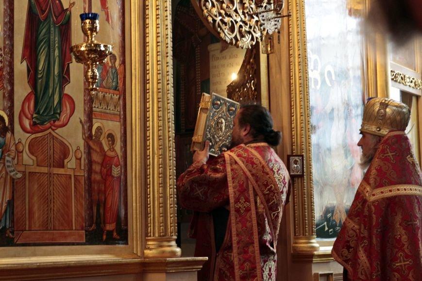 Пасхальное Богослужение в Спасо-Преображенском соборе, Никополь, фото-1
