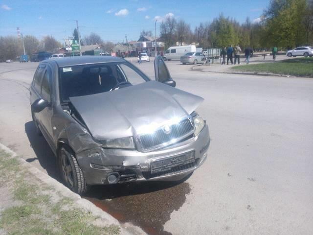 ДТП на перехресті Північної та Грушевського, фото-1