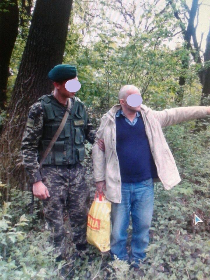 У лісі біля Ужгорода затримали поляка, який хотів нелегально пробратися у Росію: фото, фото-1