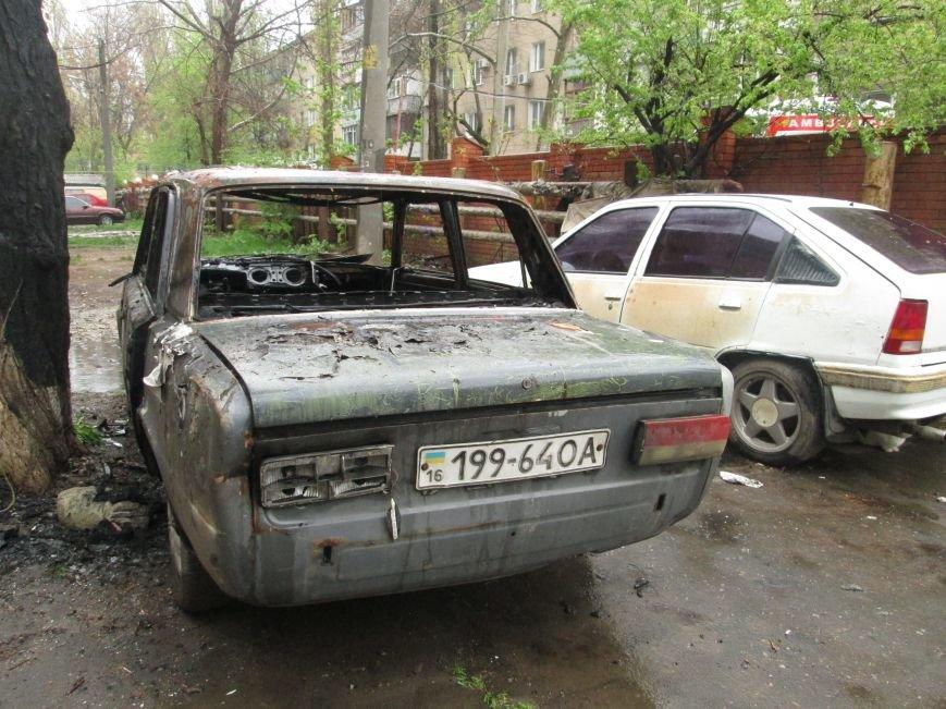 В Одессе на Черемушках горели сразу две машины (ФОТО), фото-1