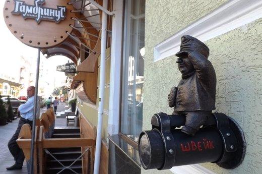 На Дерибасовской вандалы украли статую (ФОТО), фото-6