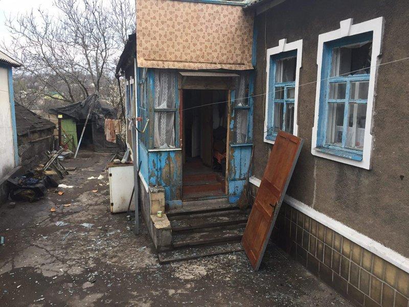 В Авдеевке под обстрелами боевиков вновь оказалась старая часть города, фото-2