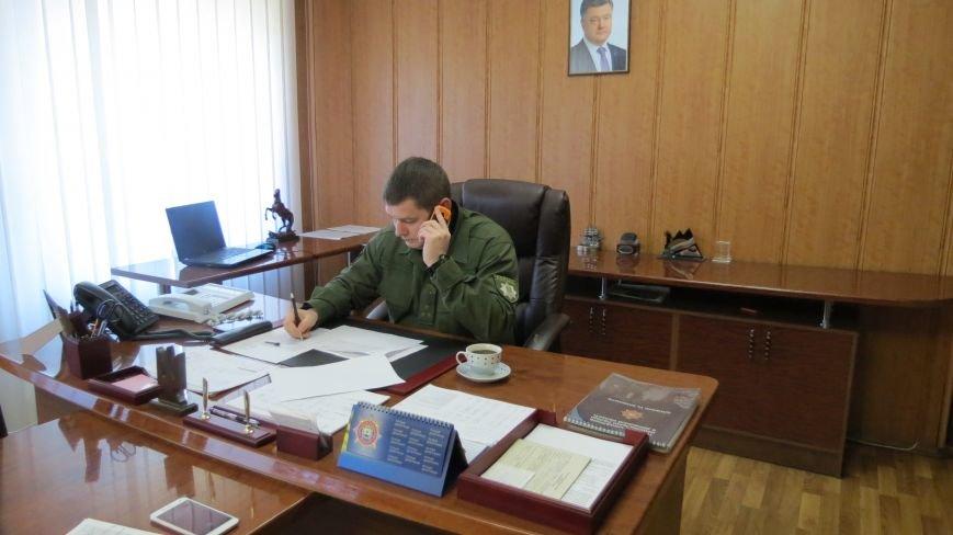 Журналист 06239 провел один рабочий день с начальником Покровского отдела полиции, фото-1
