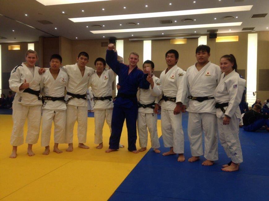 Новополоцкие дзюдоисты выступили на Кубке Европы и подружились с японцами, фото-2