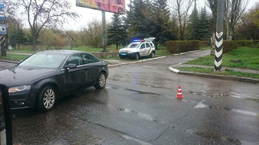 На Новом Свете в Краматорске произошло ДТП, фото-1