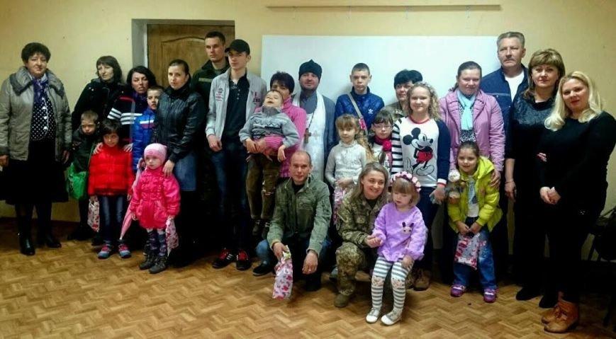 В Краматорске военные поздравили с Пасхой детей из ВБФ «Зірка Надії», фото-5