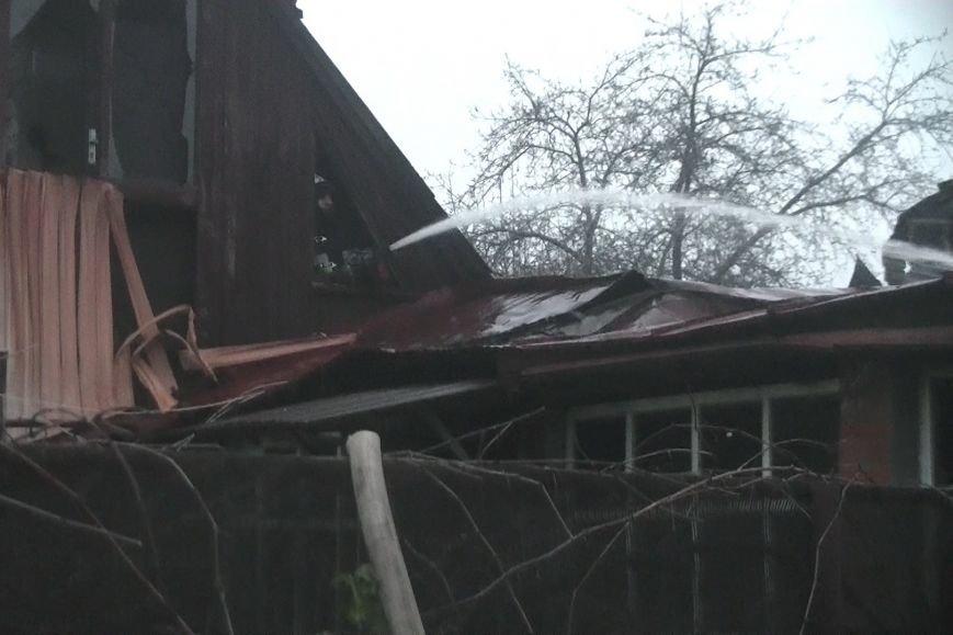 В Харькове из-за короткого замыкания загорелся жилой дом (ФОТО), фото-2