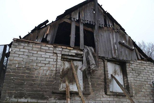 Авдеевку восстанавливают после вчерашнего обстрела, фото-1