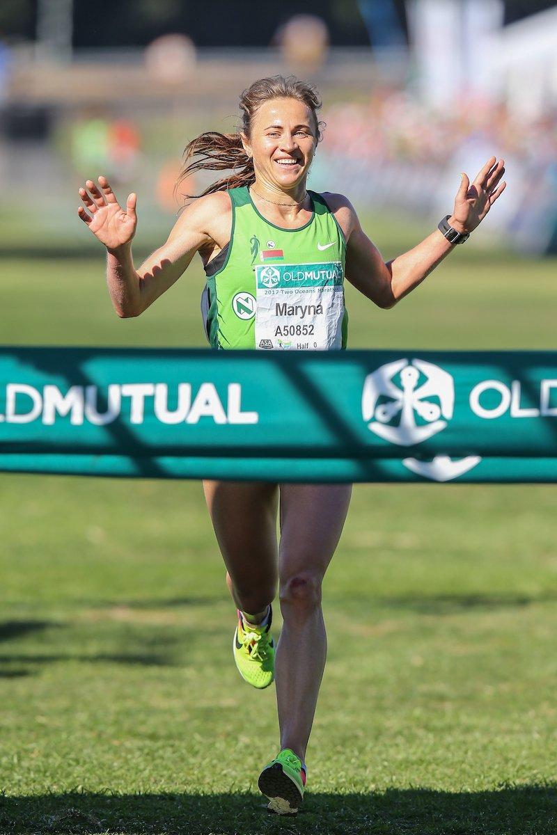 """""""Поднимаю голову, а надо мной мелькают чужие пятки"""". Новополочанка Марина Доманцевич выиграла 56-километровый марафон в Африке, фото-2"""