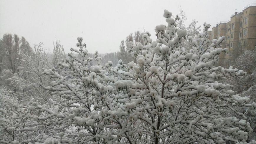 Так себе апрель. Белгородцы обрадовались выпавшему снегу: фотографии из соцсетей, фото-5