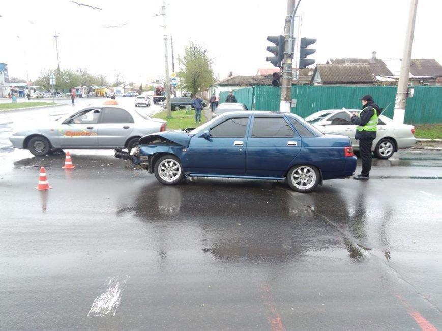 Вблизи автовокзала в Мариуполе столкнулись два авто (ФОТО), фото-1