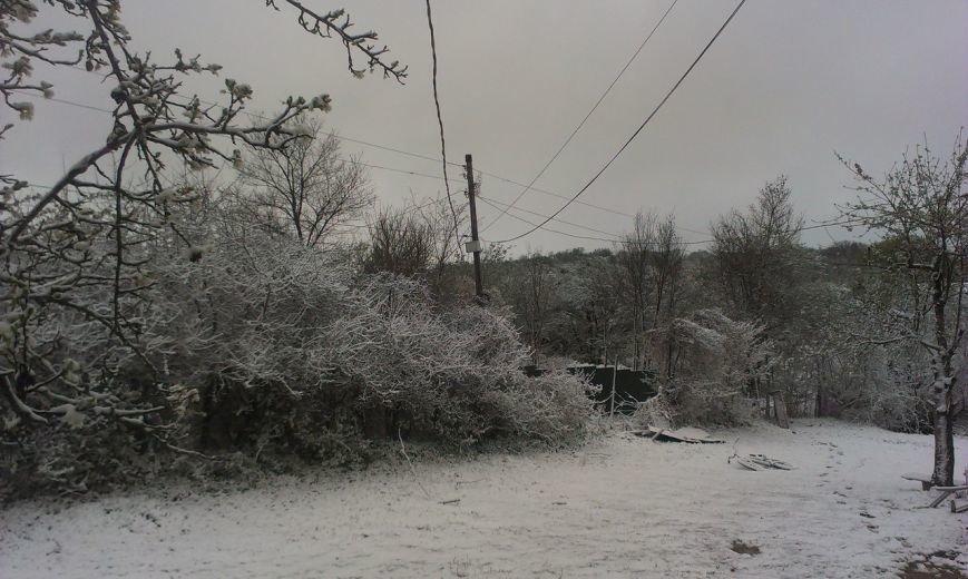 В Крым неожиданно вернулась зима: в Симферополе выпал снег (ФОТО), фото-7