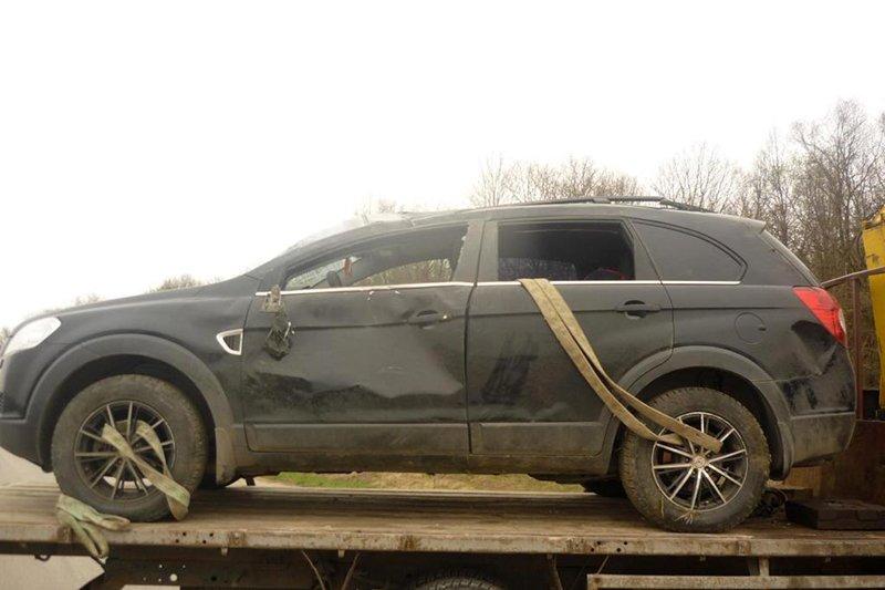 Под Белгородом погибла пассажирка перевернувшейся иномарки, фото-2