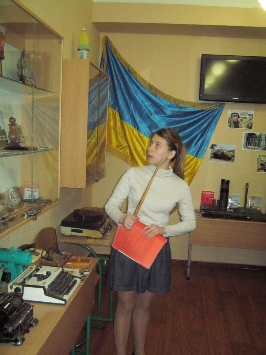 У НВК м.Покровська урочисто перерізано червону стрічку в музеї «Епоха і школа», фото-4